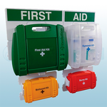 Evolution British Standard Compliant Complete First Aid Point & Kit (Large)