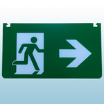 Left/Right Legend for MPESPW Exit Sign