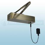 Responder 24 Electromagnetic Fire Door Closer In Antique Brass