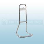 FireChief Chrome Tubular Single Stand
