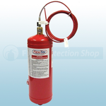 Flexitec FL06-040-P 4kg ABC Powder Fire Suppression Unit with Pressure Switch with Pressure Switch