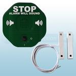 STI-6402-G Green Exit Stopper Multi-Function Door Alarm