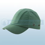 Green Safety Baseball Cap With Standard Peak
