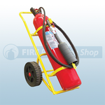 Titan 30Kg Co2 Wheeled Fire Extinguisher (M.E.D)