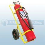 Titan 50Kg Co2 Wheeled Fire Extinguisher (M.E.D)