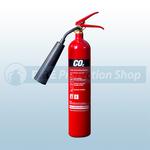 Commander Edge CO2E 2Kg Co2 Steel fire Extinguisher