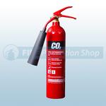 Commander Edge CO2EA 2Kg Co2 Aluminium Fire Extinguisher