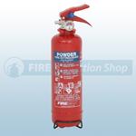 FireChief 600g ABC Dry Powder Fire Extinguisher