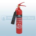 Firechief XTR 2 Kg Aluminium CO2 Fire Extinguisher