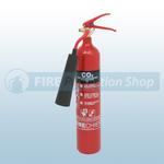 Firechief XTR 2 Kg Steel CO2 Fire Extinguisher
