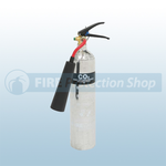 Firechief Elite Polished 2 Kg CO2 Fire Extinguisher