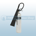 Firechief Elite Polished 5 Kg CO2 Fire Extinguisher