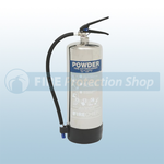 Firechief Elite Polished 6 Kg ABC Dry Powder Fire Extinguisher