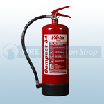 Commander Edge WS EX6A 6Ltr Water Additive Compact 34 Fire Extinguisher