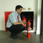 On-Site Fire Extinguisher Commission & Fit