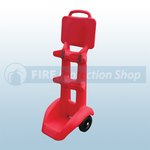 Jonesco FireKart Double Fire Extinguisher Trolley