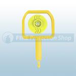 Chubb Pin & Yellow Ok Indicator (Pack Of 25)