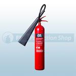 Commander Edge CO5EA 5Kg Co2 Aluminium Fire Extinguisher