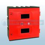 Lockable Fire Brigade Equipment Cabinet
