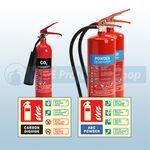 Garage / Workshop Fire Safety Pack