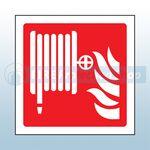 150mm X 150mm Rigid Plastic Fire Hose Reel Sign