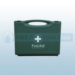 PCV First Aid Kit In Green Box (Blue Dot)