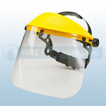"7.5"" Transparent Visor For Headgear"