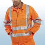 Railspec Orange Hi-Visibility GO/RT Jacket