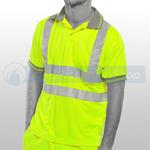 Yellow Hi-Visibility Short Sleeve Polo Shirt