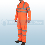 Railspec Orange Hi-Visibility GO/RT Coverall