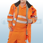 Railspec Orange Hi-Visibility Elsener 7 In 1 Jacket