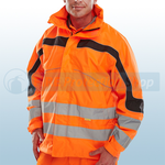 Railspec Orange Hi-Visibility Eton Breathable Jacket