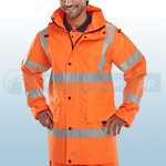 Railspec Orange Hi-Visibility Jubilee Jacket