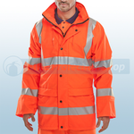 Railspec Orange Hi-Visibility PUJ EN471 Jacket