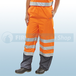 Railspec Orange Hi-Visibility Belfry Trousers