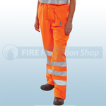Railspec Orange Hi-Visibility Birkdale Trousers