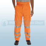 Railspec Orange Hi-Visibility GO/RT Trousers