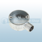 20mm Galvanised Metal Conduit Terminal Box