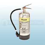 FireShield 9Ltr Stainless Steel AFFF Foam Fire Extinguisher
