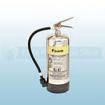 FirePower 6 Litre Foam Extinguisher (Stainless Steel)