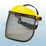 "7.5"" Steel Mesh Visor For Headgear"