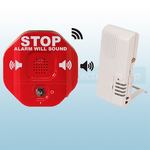 STI-V6400WIR4 Wireless Exit Stopper with 4 Channel Voice Receiver