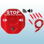 STI-6402WIR Wireless Exit Stopper Multi-function Door Alarm for Double Door