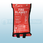 1.2m x 1.2m Soft Case Fire Blanket (British Standard)