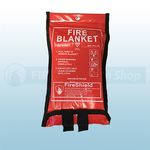 1.0m x 1.0m Soft Case Fire Blanket (British Standard)