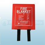 1.0m x 1.0m Hard Case Fire Blanket (British Standard)