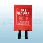 1.8m x 1.8m Hard Case Fire Blanket (British Standard)