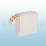 Orange Fire Extinguisher Gauge Dots (Box of 1000)