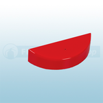 Universal Stopper CKS006 Replacement Housing Shell - Red