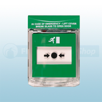 STI Green Call Point Stopper STI-6931-G Surface Mount